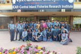 Excursion to Central Inland Fisheries Research Institute